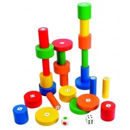 Beleduc - Construction Game Torreta Xxl 27-Piece