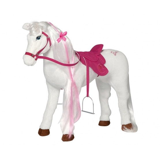 Barbie - Horse With Sound Vit 81 Cm
