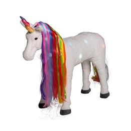 Happy People - Ridhäst Unicorn Med Ljud Och Ljus