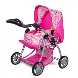 Mini Mommy - Dockvagn Rosa Ringar