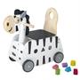 Im Toy - Carriage And Pushchair Zebra Junior 45 Cm Svart/Vit