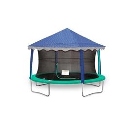 Jumpking - Tält Studsmatta - Oval 2,13 X 3,05 Meter Blå