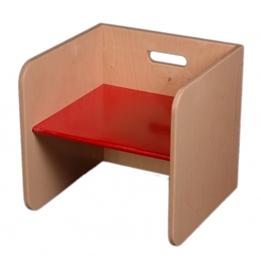 Van Dijk Toys - Stol 32 Cm Röd
