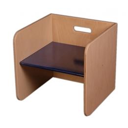 Van Dijk Toys - Stol 32 Cm Blå