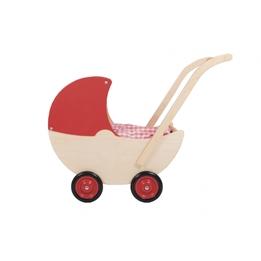 Van Dijk Toys - Dockvagn Med Fast Tak 57 Cm Röd