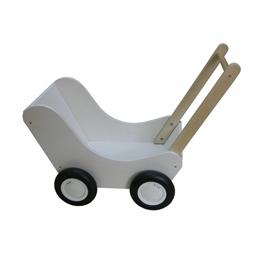 Van Dijk Toys - Dockvagn 56 Cm Vit