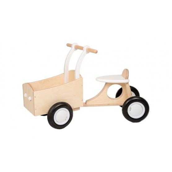 Van Dijk Toys - Sparkcykel - Loop-Bakfiets Junior Vit