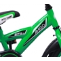 Amigo - BMX Cykel - Bmx Turbo 12 Tum Grön