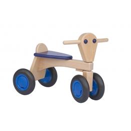 Van Dijk Toys - Sparkcykel - Houten Loopfiets Junior Blå