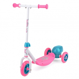 Xootz - Sparkcykel - 3-Wiel Bubble Scooter Fotbroms Rosa