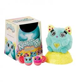 Goliath - Nestlings Interactive Grooming Cuddly Grön-Blå