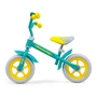 Milly Mally - Balanscykel - Loopfiets Dragon 10 Tum Junior Mint Grön/Gul