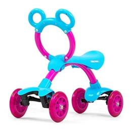 Milly Mally - Fyrhjuling - Orion Flash Loopfiets Junior Blå/Rosa