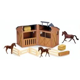 Collecta - Stall Med Djur Och Tillbehör