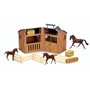 Collecta - Play Set Stable With Animals And Accessories 11-Piece