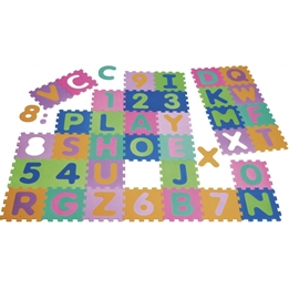 Playshoes - Golvpussel/Lekmatta Skum 36 Delar