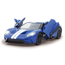 Rastar - Radiostyrd Bil Ford Gt 1:14 Blå