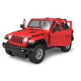 Rastar - Radiostyrd Bil Jeep Wrangler Jl 1:14 Röd