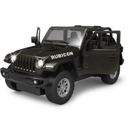 Rastar - Radiostyrd Bil Jeep Wrangler Jl 1:14 Svart
