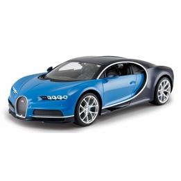 Rastar - Radiostyrd Bil Bugatti Chiron 1:14 Blå