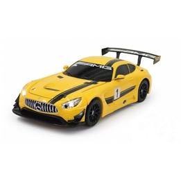 Rastar - Radiostyrd Bil Mercedes Amg Gt3 Transformers Gul