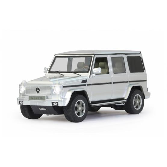 Rastar - Rc Mercedes-Benz G55 Amg Boys 27 Mhz 1:14 Silver