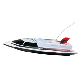 Jamara - Radiostyrd Bil Swordfish Speedboat Vit