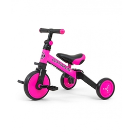 Milly Mally - Balanscykel - Optimus 3-In-1 Junior Rosa