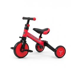Milly Mally - Balanscykel - Optimus 3-In-1 Junior Röd