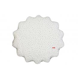 Pericles - Lekmatta Spots Diameter 78 Cm Vit/Svart