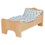 Glackskafer - Wooden Dolls Erle Bed (Without Bedding)