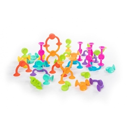 Fat Brain Toys - Squigz 2.0 Construction Toys 36-Piece