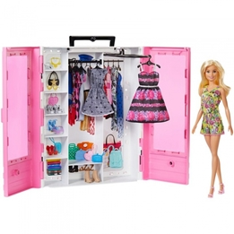 Barbie - Ultimate Wardrobe With Accessories Rosa