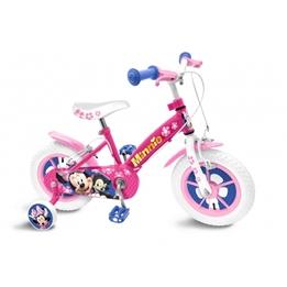 Disney - Barncykel - Minnie Mouse 12 Tum Rosa