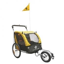 M-Wave - Cykelvagn / Lastvagn - Carry All 3 In 1 20 Tum Gul