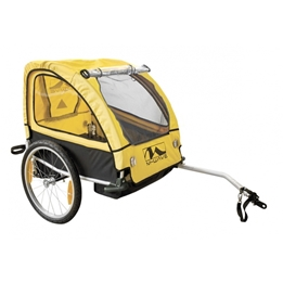 M-Wave - Cykelvagn / Lastvagn - Carry All 40 Sus 20 Tum Gul