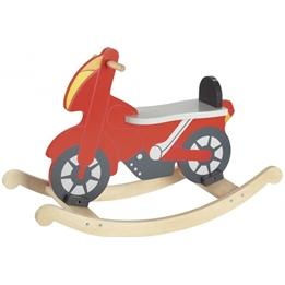 Goki - Gunghäst Rocking Motor Röd