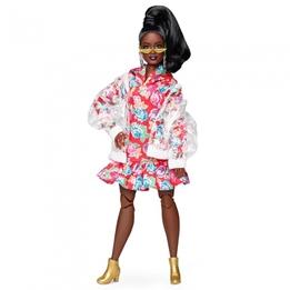 Barbie - Teenager Doll Bmr1959 Floral Hoodie Dress 36 Cm