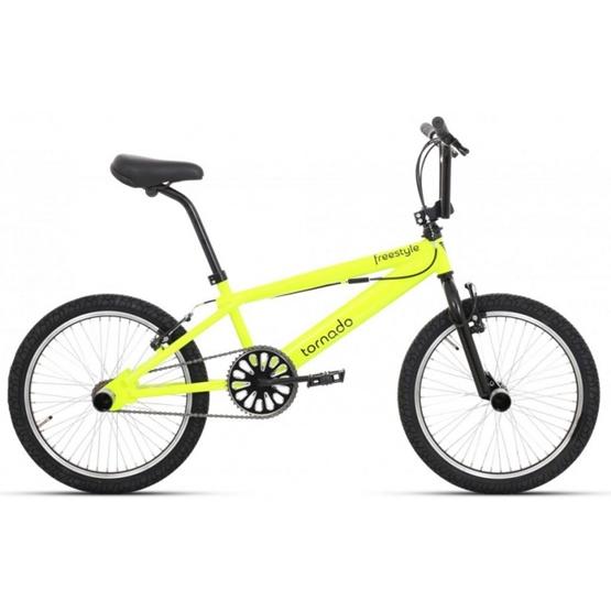 Tornado - BMX Cykel - Freestyle 20 Tum Gul
