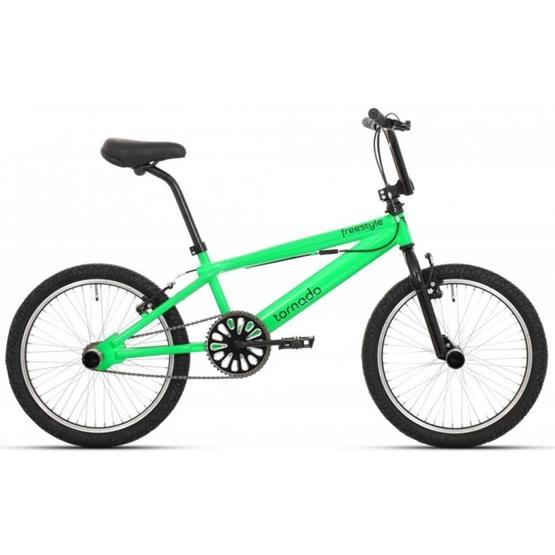 Tornado - BMX Cykel - Freestyle 20 Tum Grön