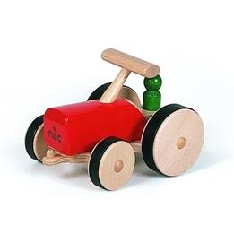 Nic - Traktor 27 Cm Wood Röd