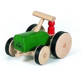 Nic - Traktor 27 Cm Wood Grön