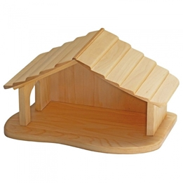 Glackskafer - Wooden Stable 42 Cm Clear