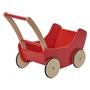 Nic - Dockvagn Wood 45 Cm Röd/Brun