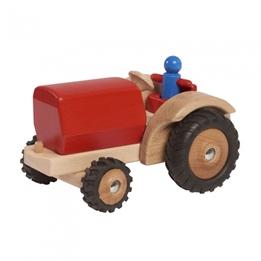 Walter - Traktor 23.5 Cm Wood Röd