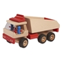 Walter - Dump Truck 34.5 Cm Wood Clear/Röd