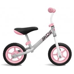 Skids Control - Balanscykel - Loopfiets 10 Tum Junior Grå/Rosa