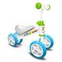 Skids Control - Sparkcykel - Loopfiets Junior Blå/Vit