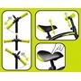 Skids Control - Balanscykel - Loopfiets 10 Tum Junior Svart/Grön