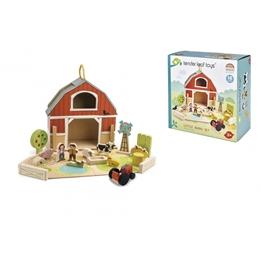 Tender Toys - Farm Med Tillbehör 18 Delar